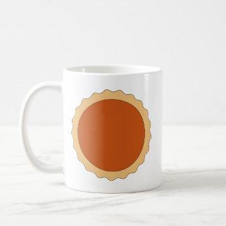 Pumpkin Pie. Basic White Mug