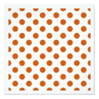 Pumpkin Pie Pattern. Personalized Invitation