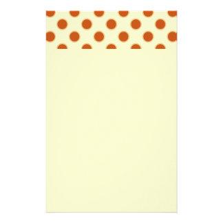 Pumpkin Pie Pattern. Stationery Paper
