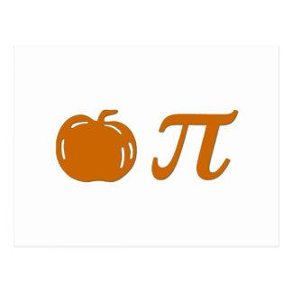 pumpkin pie post cards