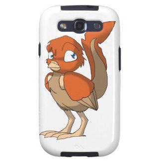 Pumpkin Pie Reptilian Bird by Bloorox1225/Ganene K Galaxy S3 Cases
