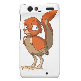 Pumpkin Pie Reptilian Bird by Bloorox1225/Ganene K Motorola Droid RAZR Covers