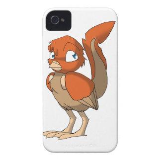 Pumpkin Pie Reptilian Bird by Bloorox1225/Ganene K iPhone 4 Covers