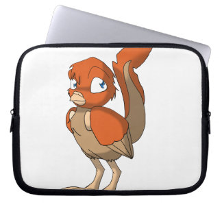 Pumpkin Pie Reptilian Bird by Bloorox1225/Ganene K Laptop Sleeves