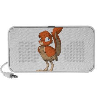 Pumpkin Pie Reptilian Bird by Bloorox1225/Ganene K iPhone Speakers
