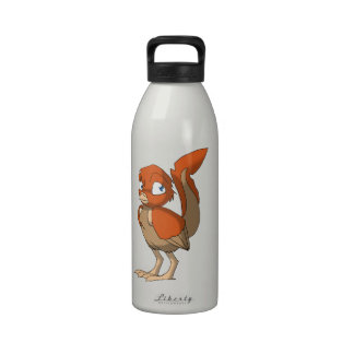 Pumpkin Pie Reptilian Bird by Bloorox1225/Ganene K Drinking Bottles
