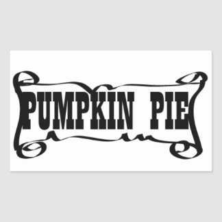PUMPKIN PIE 'SPICE JAR' STICKER