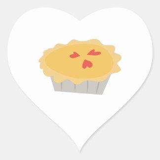 Pumpkin Pie Heart Sticker