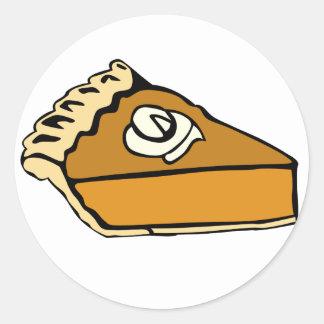 Pumpkin Pie Stickers