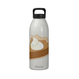 Pumpkin Pie Reusable Water Bottle