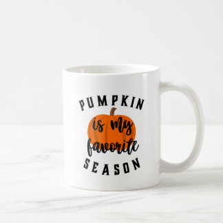 Pumpkin Season Coffee Mug