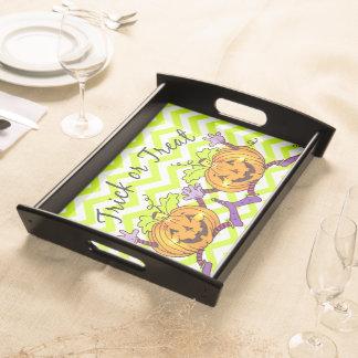 Pumpkin Treats Halloween Food Tray