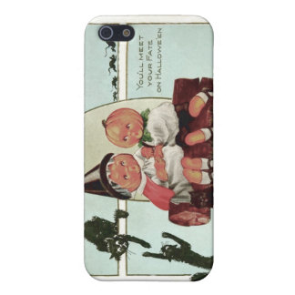 Pumpkinhead Black Cat Witch Case For The iPhone 5