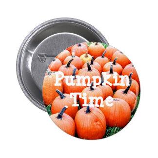 Pumpkins 6 Cm Round Badge