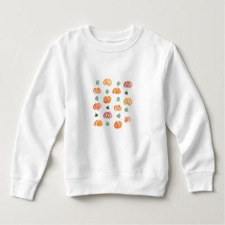 Pumpkins with Leaves Toddler Sweatshirt