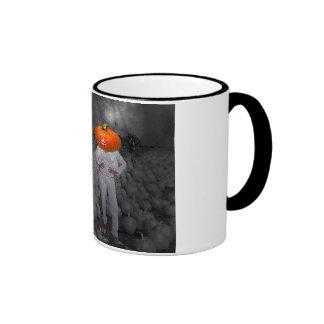 Pumplin head mug Halloween