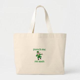 Punch Me I m Irish Bags