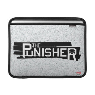 Punisher Logo Sleeve For MacBook Air