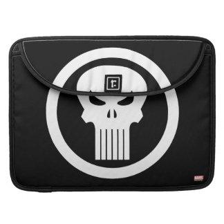 Punisher Skull Icon Sleeve For MacBook Pro