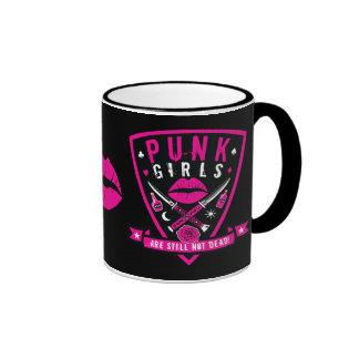Punk Girls are still not dead! mug - black