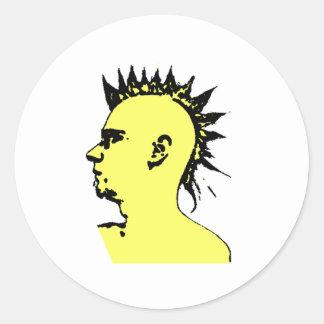 Punk Is Not Dead Round Sticker