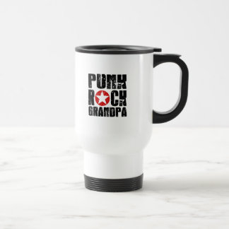 Punk Rock Grandpa Travel Mug