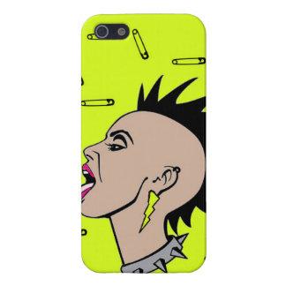 Punk Rock Sista iPhone 5/5S Case