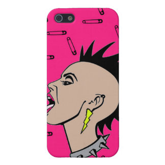 Punk Rock Sista iPhone 5 Cover