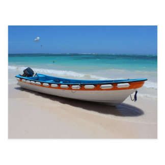 Punta Cana Boat Postcard