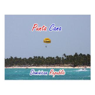 Punta Cana Parasailing Postcard