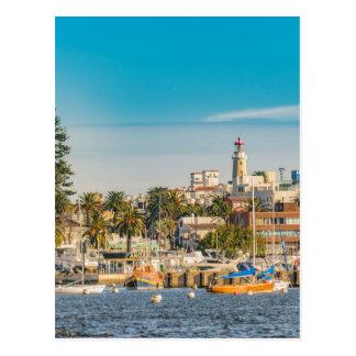 Punta del Este Port, Uruguay Postcard
