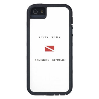 Punta Rusia Dominican Republic Scuba Dive Flag iPhone 5 Cover