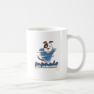 Pupnado Themed Basic White Mug