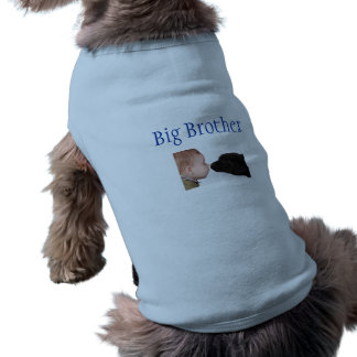 Puppy Big Brother T-Shirt Sleeveless Dog Shirt