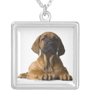 Puppy Dog Silver Plated Necklace