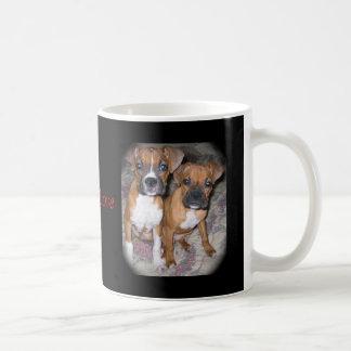 Puppy Love :  Adorable Boxer  Mug