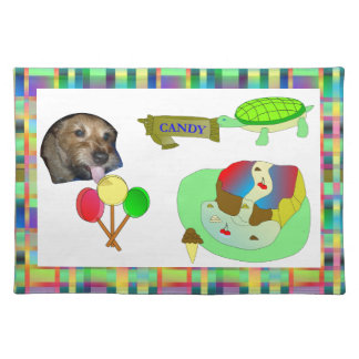 Puppy Love and Candy Critters Placemat