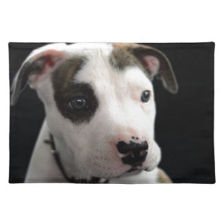 Puppy Pit Bull T-Bone Placemat