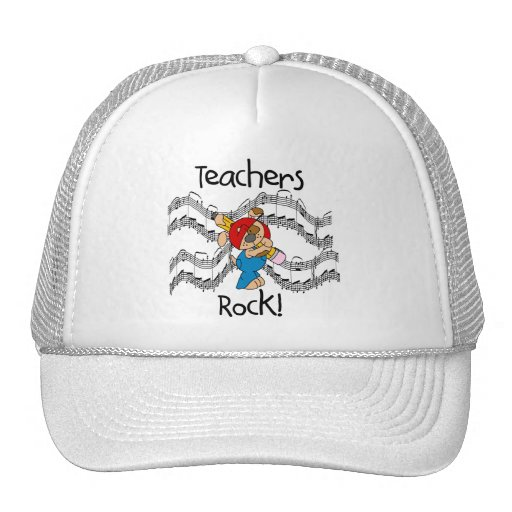 Puppy Teachers Rock Tshirts and Gifts Hat