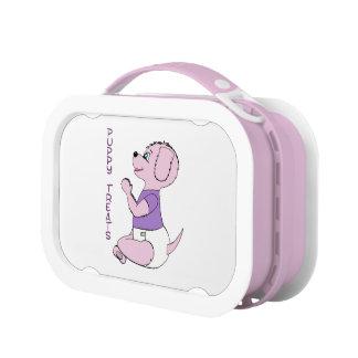 Puppy Treats Babyfur Lunchbox Pink