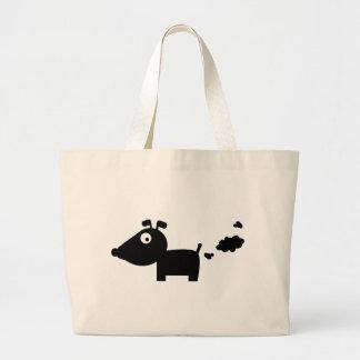 pupsender Hund Canvas Bags