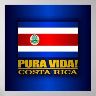 Pura Vida! Costa Rica Poster