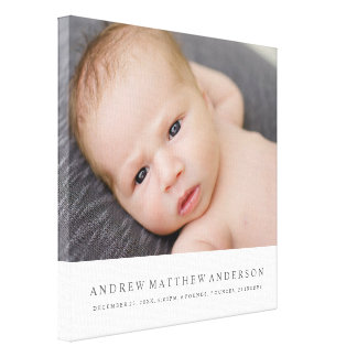 Pure Baby Canvas Print