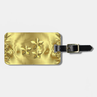 Pure Gold Luggage Tag