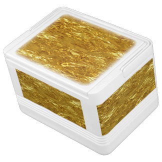 PURE GOLD pattern / gold foil Chilly Bin