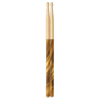 PURE GOLD pattern / gold shine Drumsticks