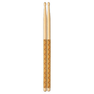 PURE GOLD pattern / golden pearls Drumsticks