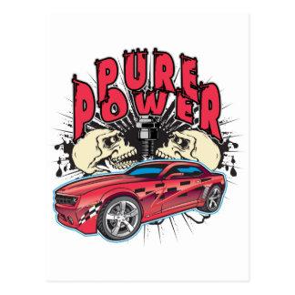 Pure Power Camaro Postcard