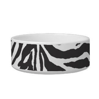 Pure Zebra Pet Food Bowl
