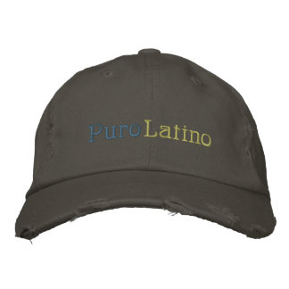 Puro, Latino Embroidered Baseball Caps